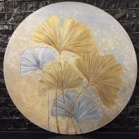تابلو گرد گل ژینکو