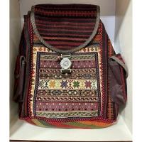 کیف کوله بزرگ تمام گلیمی دستباف